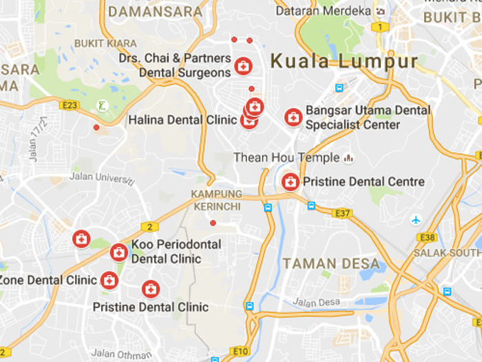 Dental Map